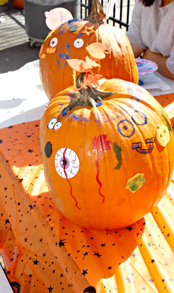 fundraising ideas- pumpkin decorating station