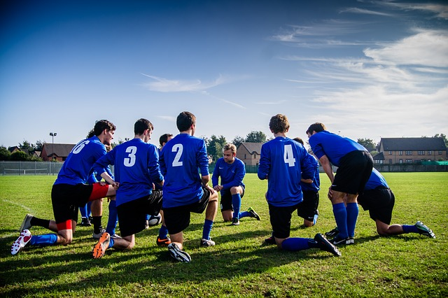 Healthy fundraiser- friendly sports events