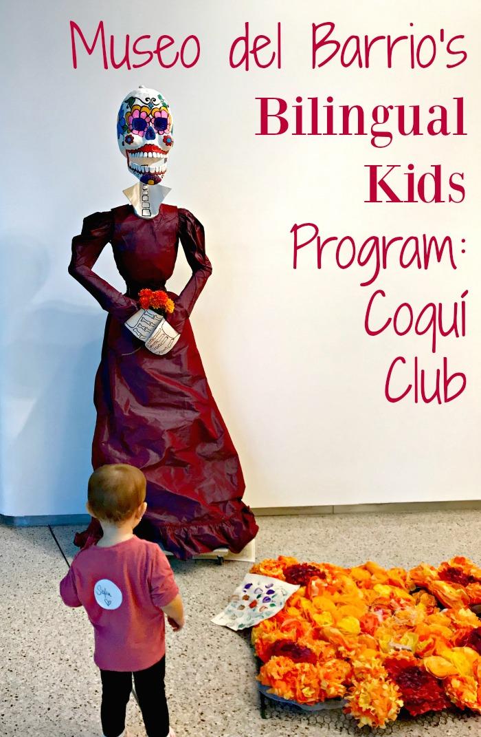 Museo del Barrio's Bilingual Kids Programming: El Coquí Club