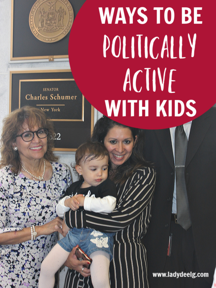 WAYS TO BE POLITICALLY ACTIVE WITH KIDS OF ALL AGES