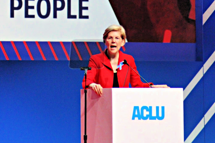 Elizabeth Warren at ACLU Conference 2018